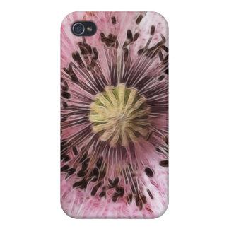 Wind Blown Poppy iPhone 4 Cases