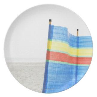 Wind Break on Beach Plate