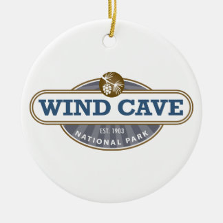 Wind Cave National Park Christmas Ornament