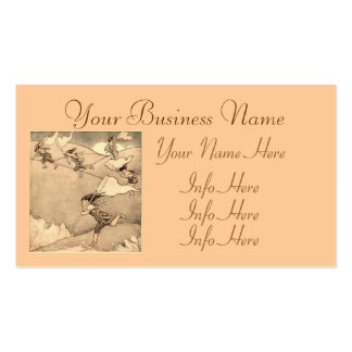 Wind Faeries Catching Wind Business Card
