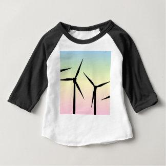 Wind Farm Morning Baby T-Shirt