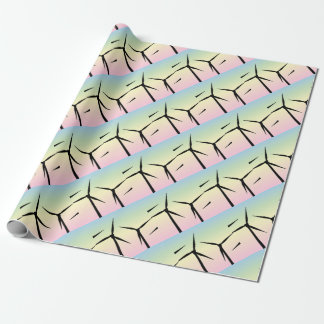 Wind Farm Morning Wrapping Paper