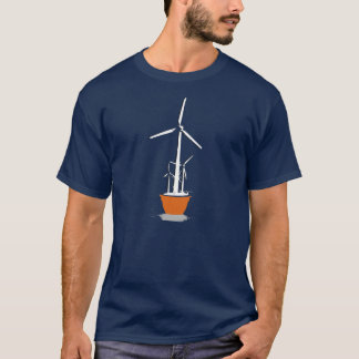 Wind Flower T-shirt / Earth Day T-shirt