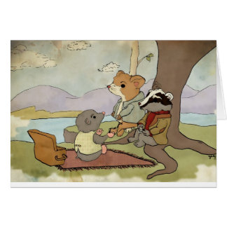 Wind in the Willows Card