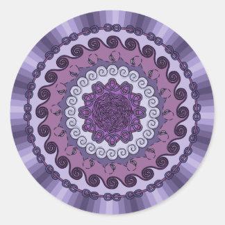 Wind Mandala Sticker