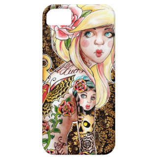 Wind Me Up Tattooed Pin Up Case For The iPhone 5