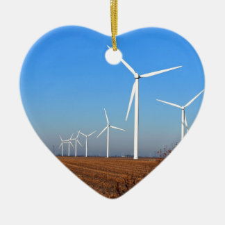Wind mills.JPG Ceramic Heart Decoration