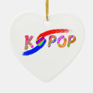 Wind of K-pop Ceramic Heart Decoration