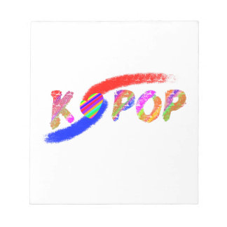 Wind of K-pop Notepads