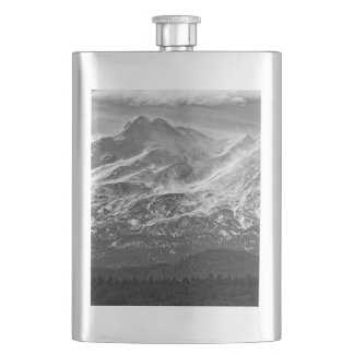 WIND ON THE MOUNTAIN HIP FLASK