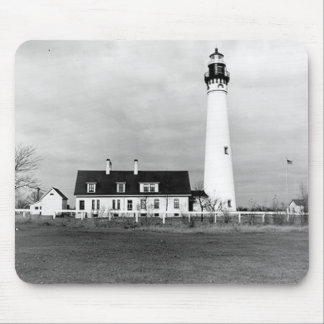 Wind Point Lighthouse Mouse Mat
