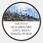 Wind Power (3) Classic Round Sticker