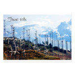 Wind Power (3) Large Business Cards (Pack Of 100)