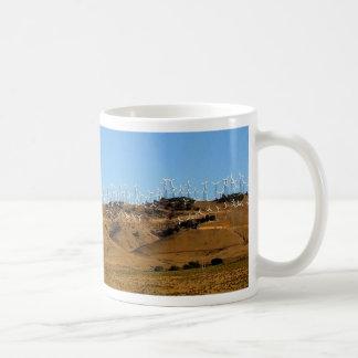 wind power basic white mug