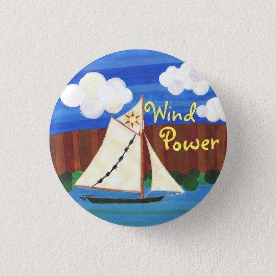 Wind Power - Clearwater 3 Cm Round Badge