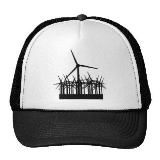 wind power environment trucker hats