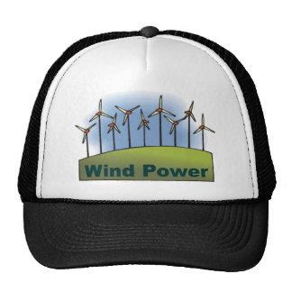 Wind Power Trucker Hats