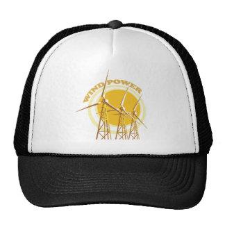 Wind Power Mesh Hat