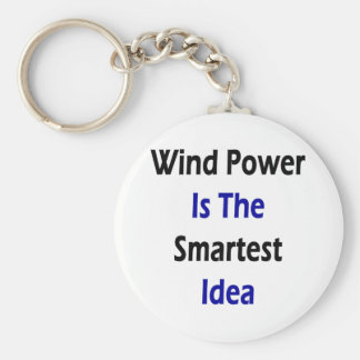 Wind Power Is The Smartest Idea Keychains