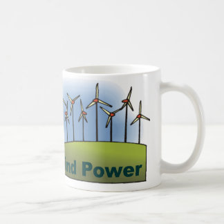 Wind Power Coffee Mugs