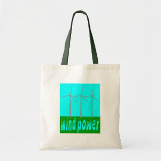 Wind Power With Turbines And Sky Tote Bag