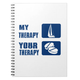 Wind Sailing designs and gift items Notebook