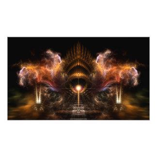Wind Storm Fractal Art Photo Enlargement