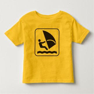 Wind Surfing Symbol Shirts