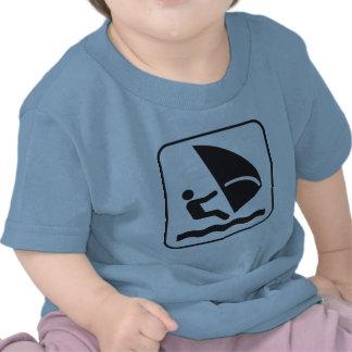 Wind Surfing Symbol T Shirt