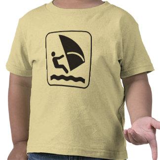 Wind Surfing Symbol Tees