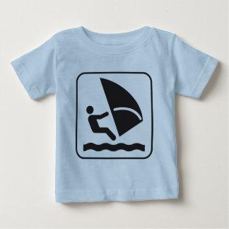 Wind Surfing Symbol Tshirts