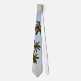 Wind Themed, Sevral Palm Trees Waving With Wind Ba Tie