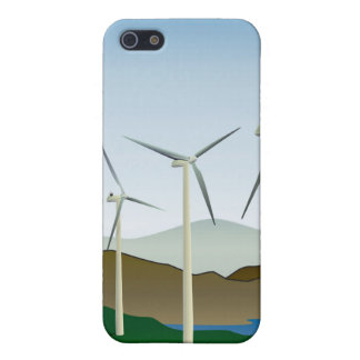 Wind Turbine by Lake Case For iPhone 5/5S