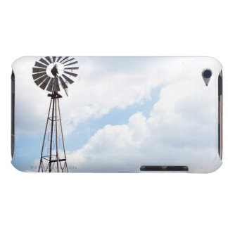 Wind Turbine in field iPod Touch Covers