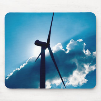 Wind turbine mouse mat