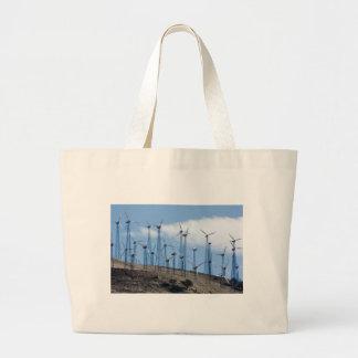Wind Turbines Canvas Bag
