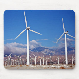 Wind turbines mouse mat