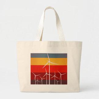 Wind Turbines Vintage Style Bag