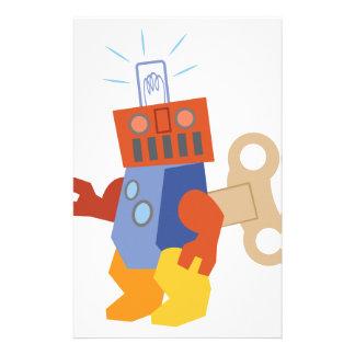 Wind Up Robot Stationery