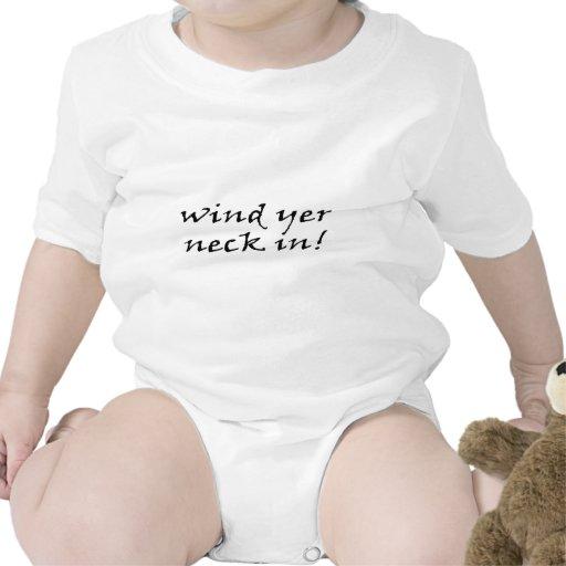 Wind yer neck in - Northern Ireland Romper