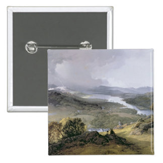 Windermere: from Orrest Head 15 Cm Square Badge