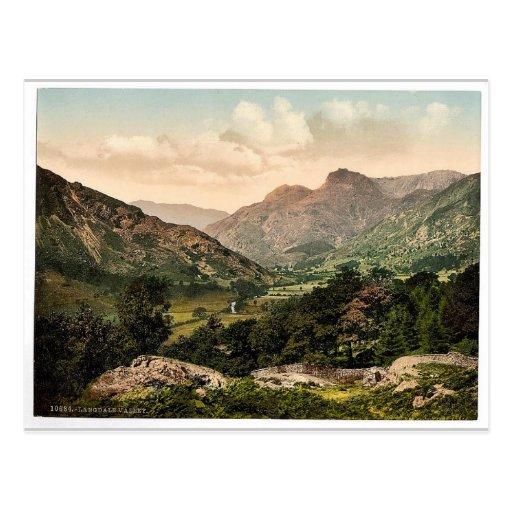Windermere, Langdale Valley, Lake District, Englan Post Cards