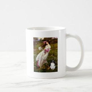 Windflowers - Japanese Chin 3 Basic White Mug