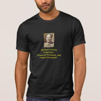 Windham County Prosecutor #2: T-Shirt (Black)