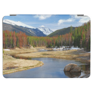 Winding Colorado River With Mountains and Pines iPad Air Cover