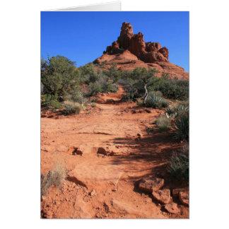 Winding Path Card
