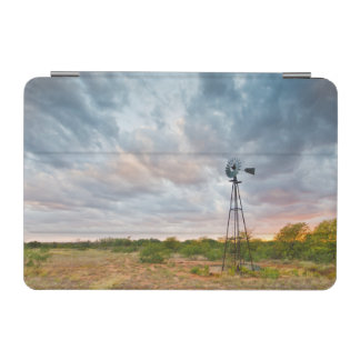 Windmill And Clouds At Sunset iPad Mini Cover