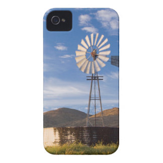 Windmill And Dam In The Karoo At Sunrise iPhone 4 Case-Mate Case