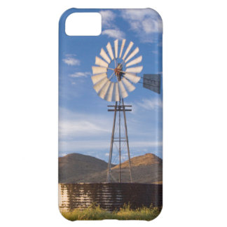 Windmill And Dam In The Karoo At Sunrise iPhone 5C Case