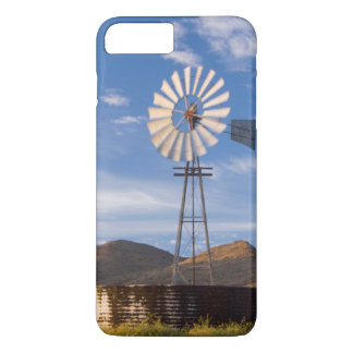 Windmill And Dam In The Karoo At Sunrise iPhone 8 Plus/7 Plus Case